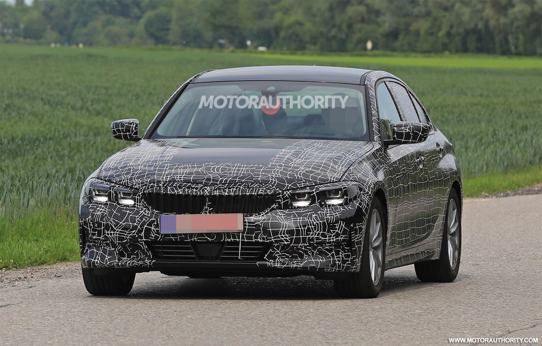 Engine Spy Shots BMW 3 Series
