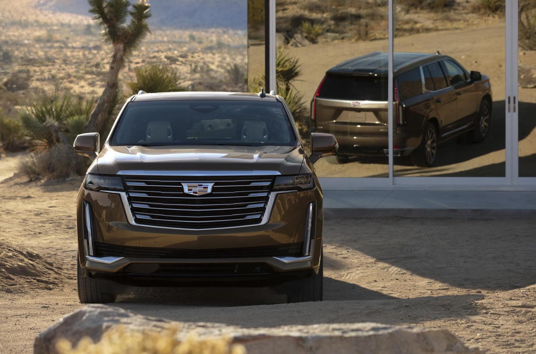 Exterior 2022 Cadillac Escalade Platinum