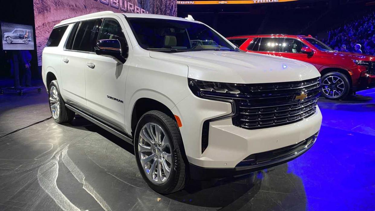 Redesign 2022 Chevrolet Suburban
