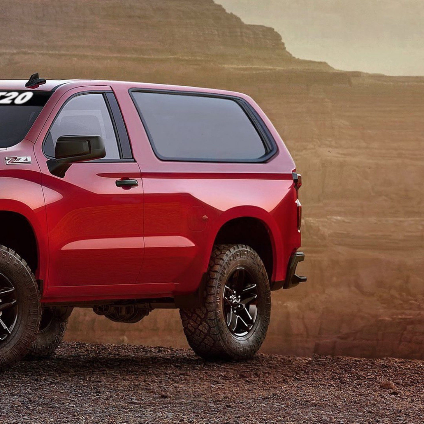 Picture 2022 Chevy Blazer K 5