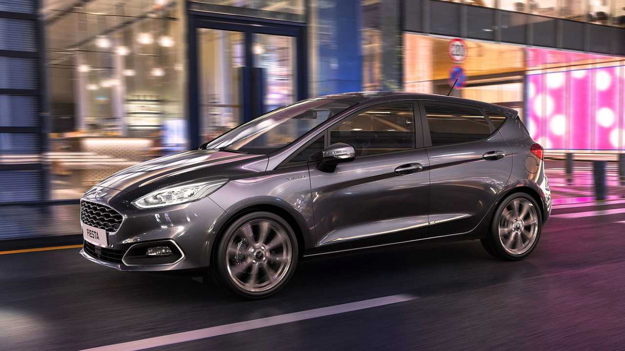 Exterior and Interior 2022 Fiesta St