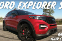 new concept ford explorer st 2022