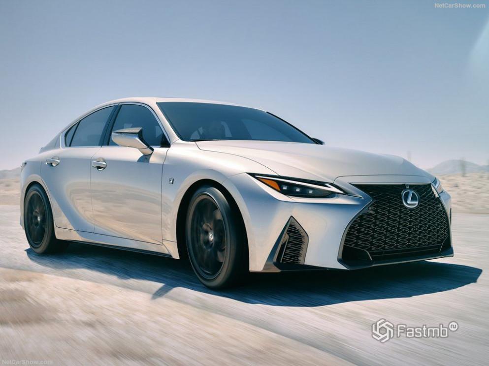 Exterior Lexus Is 2022