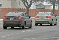 new concept spy shots ford fusion