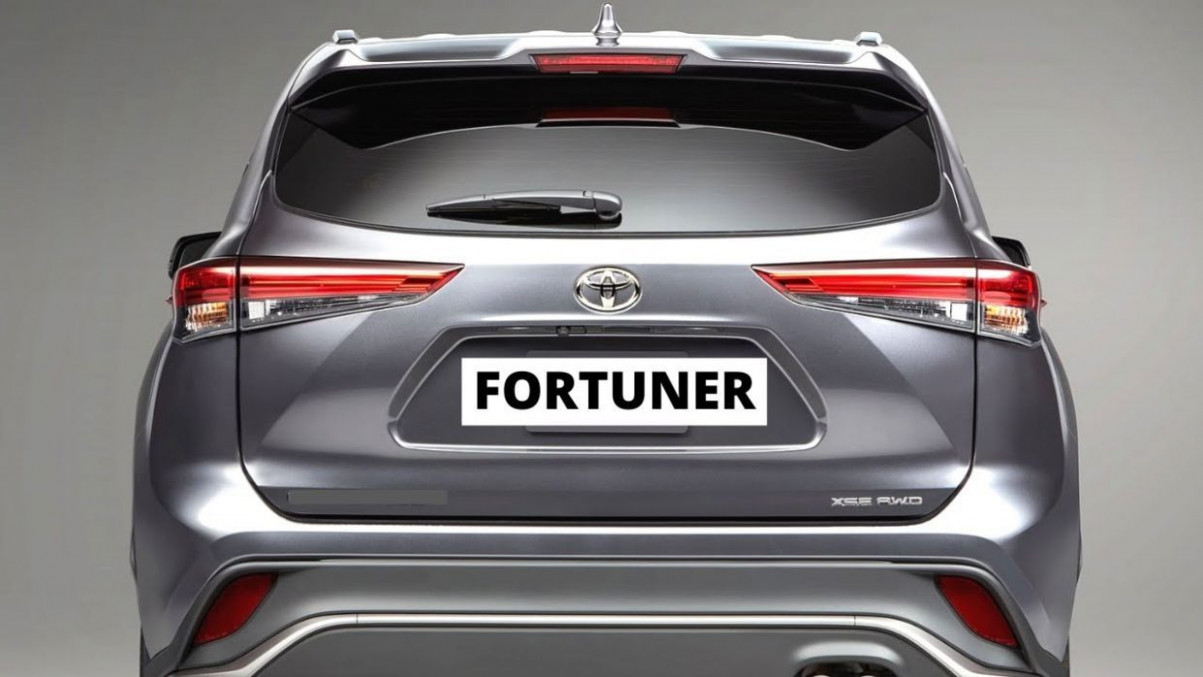 Exterior and Interior Toyota Fortuner 2022 Model