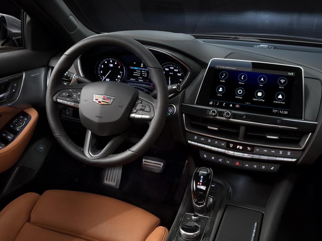 First Drive 2022 Cadillac Ct5 Interior