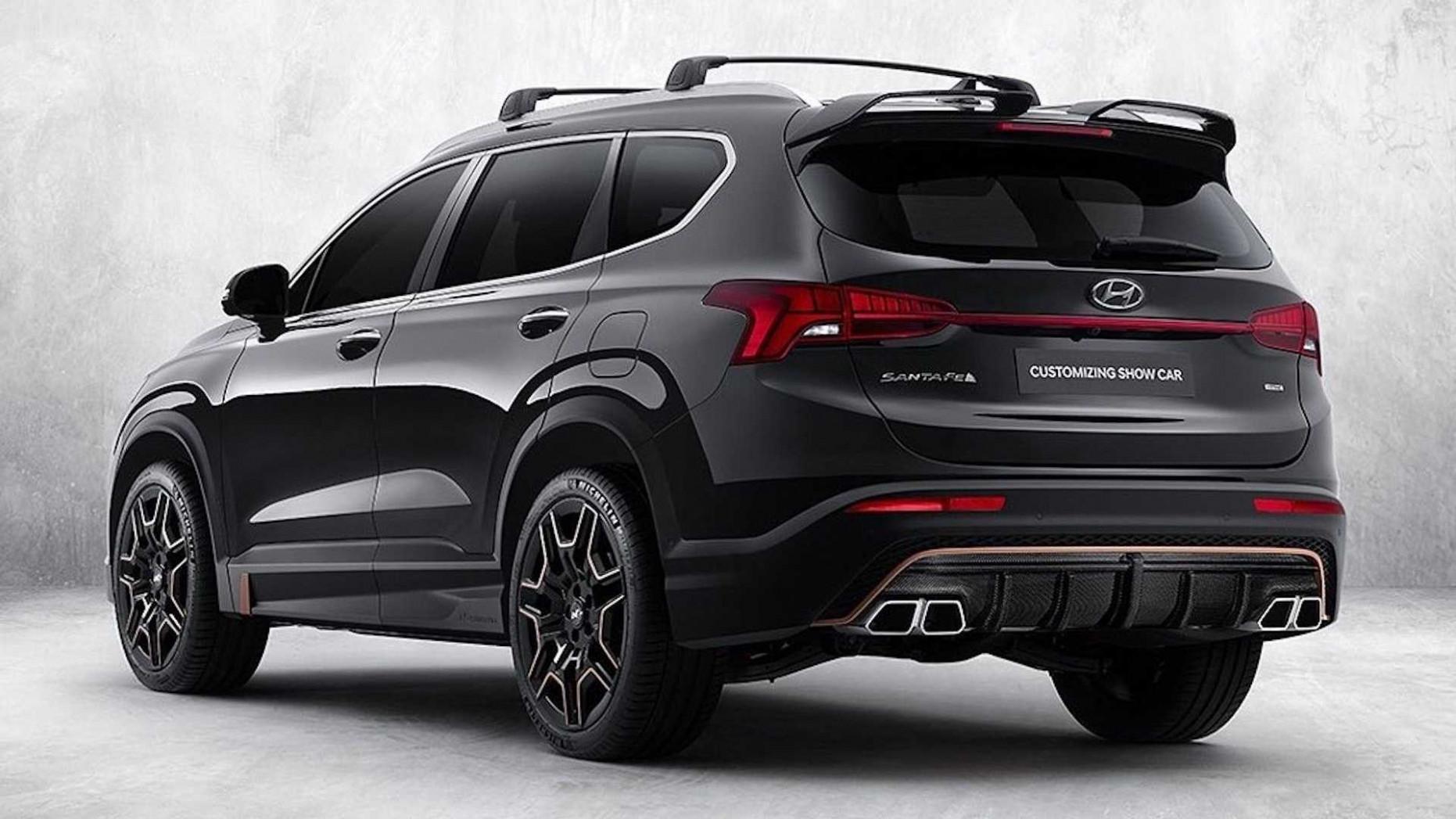 Overview 2022 Hyundai Santa Fe N