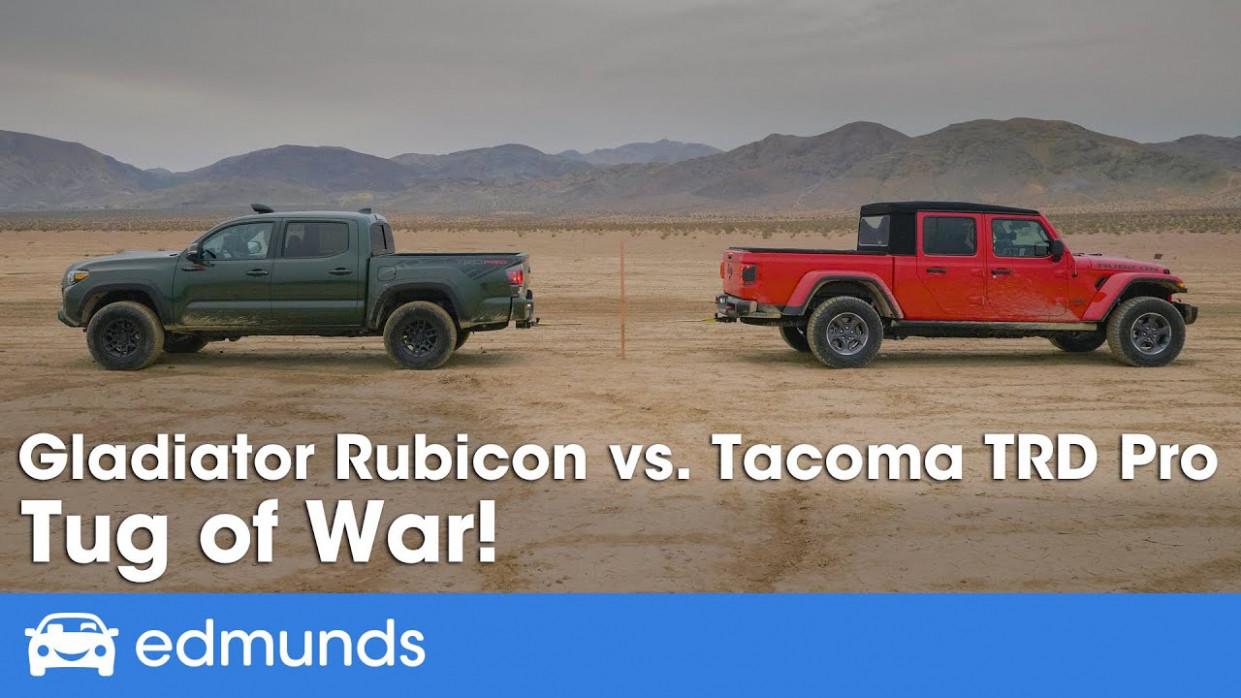 Pricing 2022 Jeep Gladiator Vs Tacoma