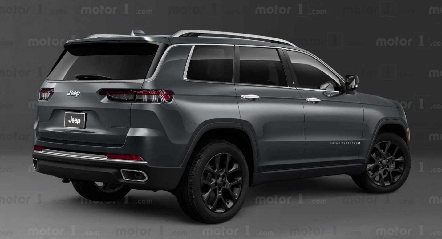 Exterior and Interior 2022 Jeep Grand Cherokee