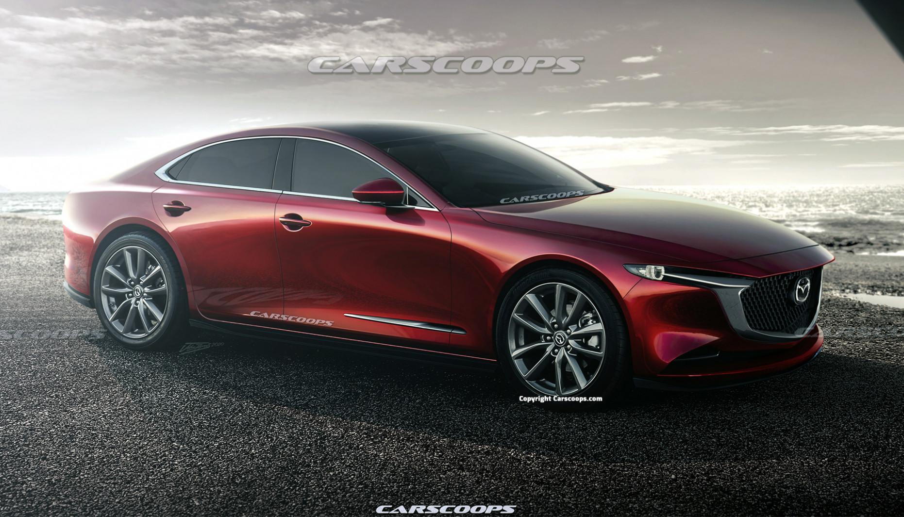 Exterior 2022 Mazda 6s