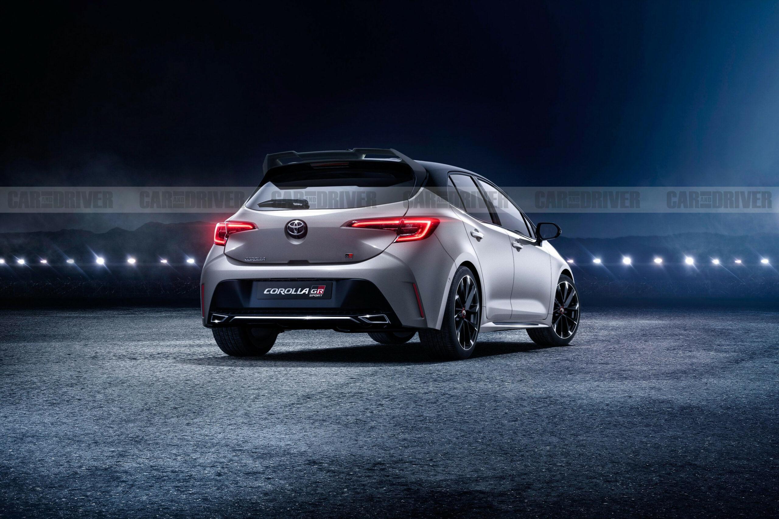 Engine 2022 Toyota Corolla Hatchback