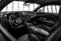 new model and performance audi r8 2022 black