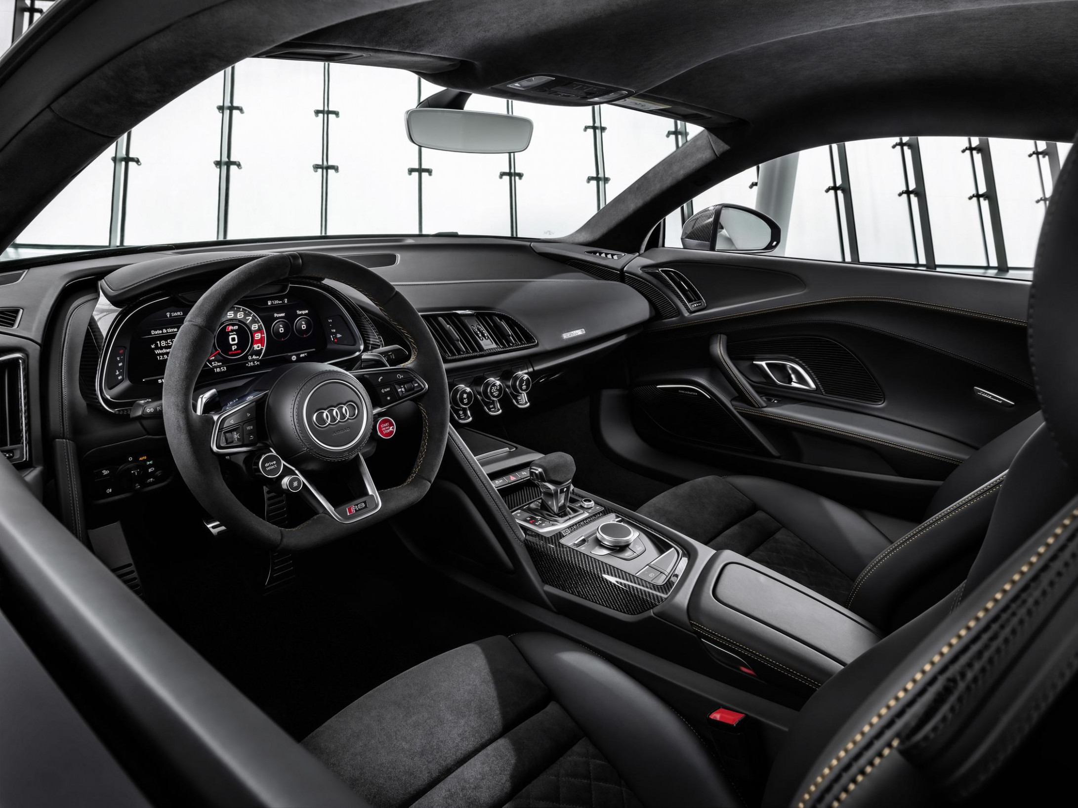 Redesign and Review Audi R8 2022 Black