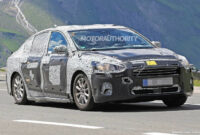 new model and performance spy shots ford fusion