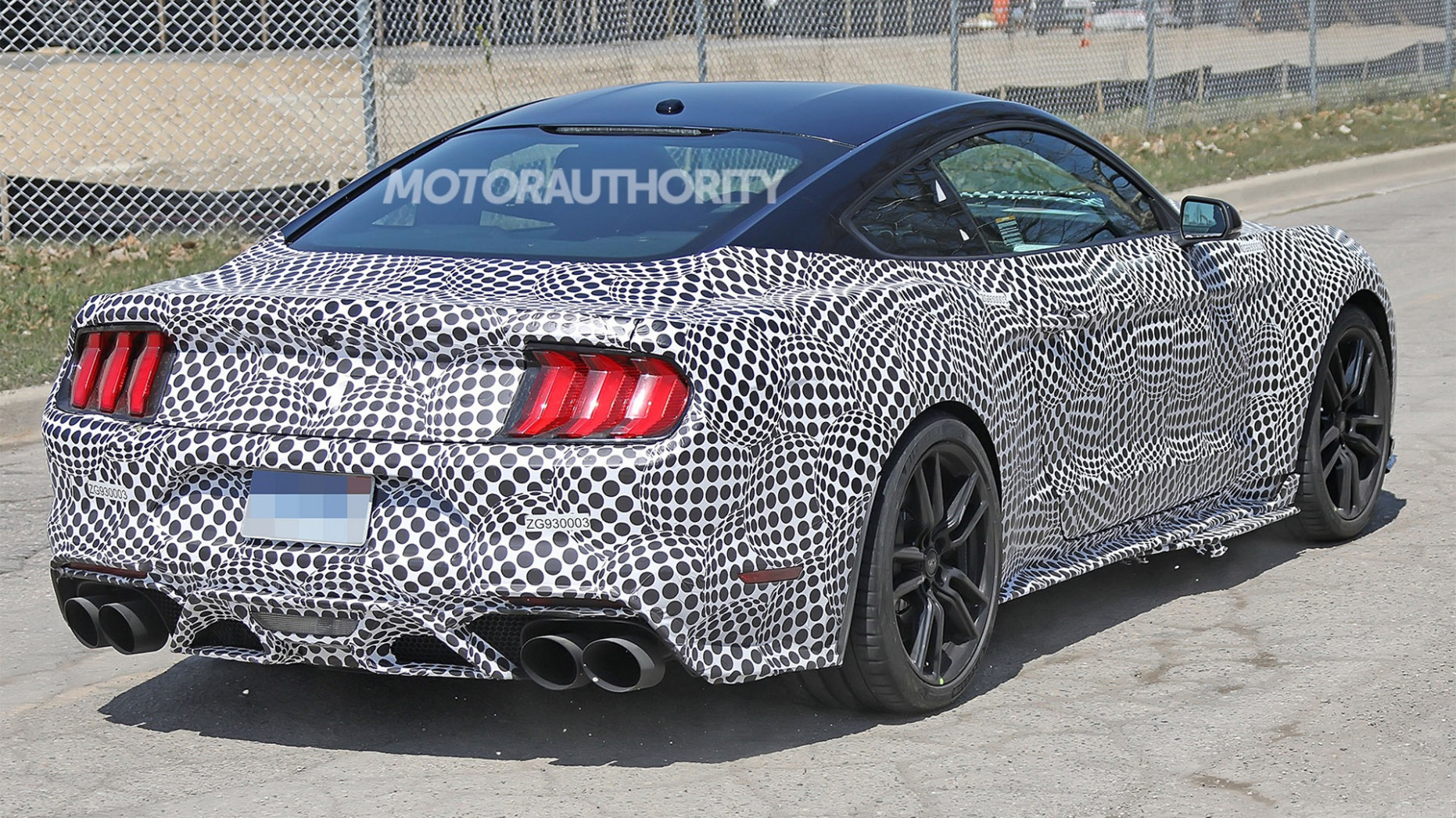 New Concept Spy Shots Ford Mustang Svt Gt 500