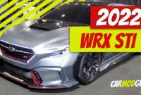 new model and performance subaru wrx sti 2022