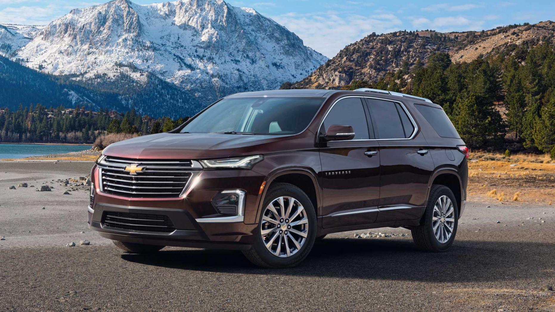 Images 2022 Chevrolet Traverses