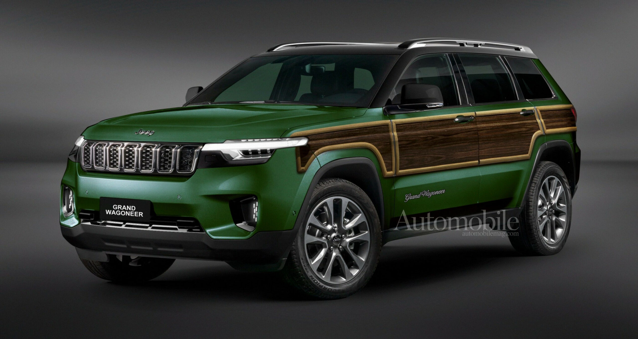 Redesign and Concept 2022 Jeep Wagoneer