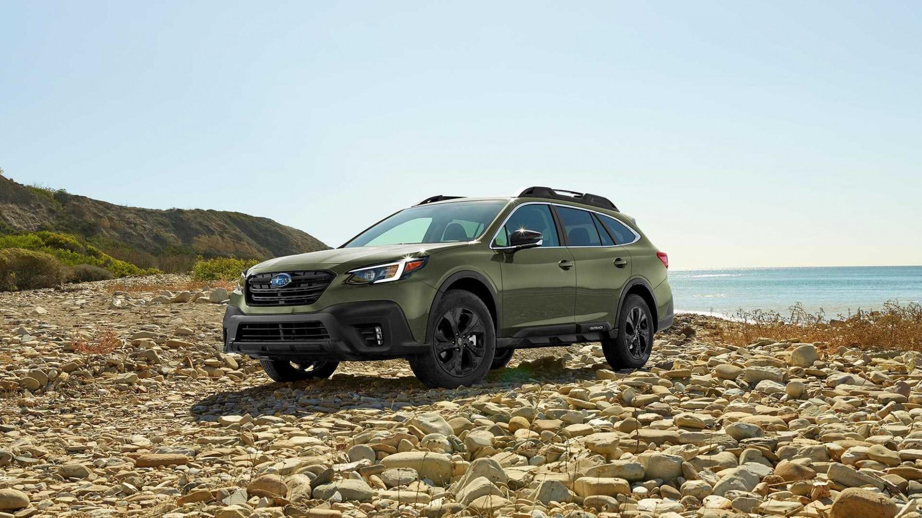 Spy Shoot 2022 Subaru Outback Exterior Colors
