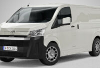 New Concept 2022 Toyota Hiace