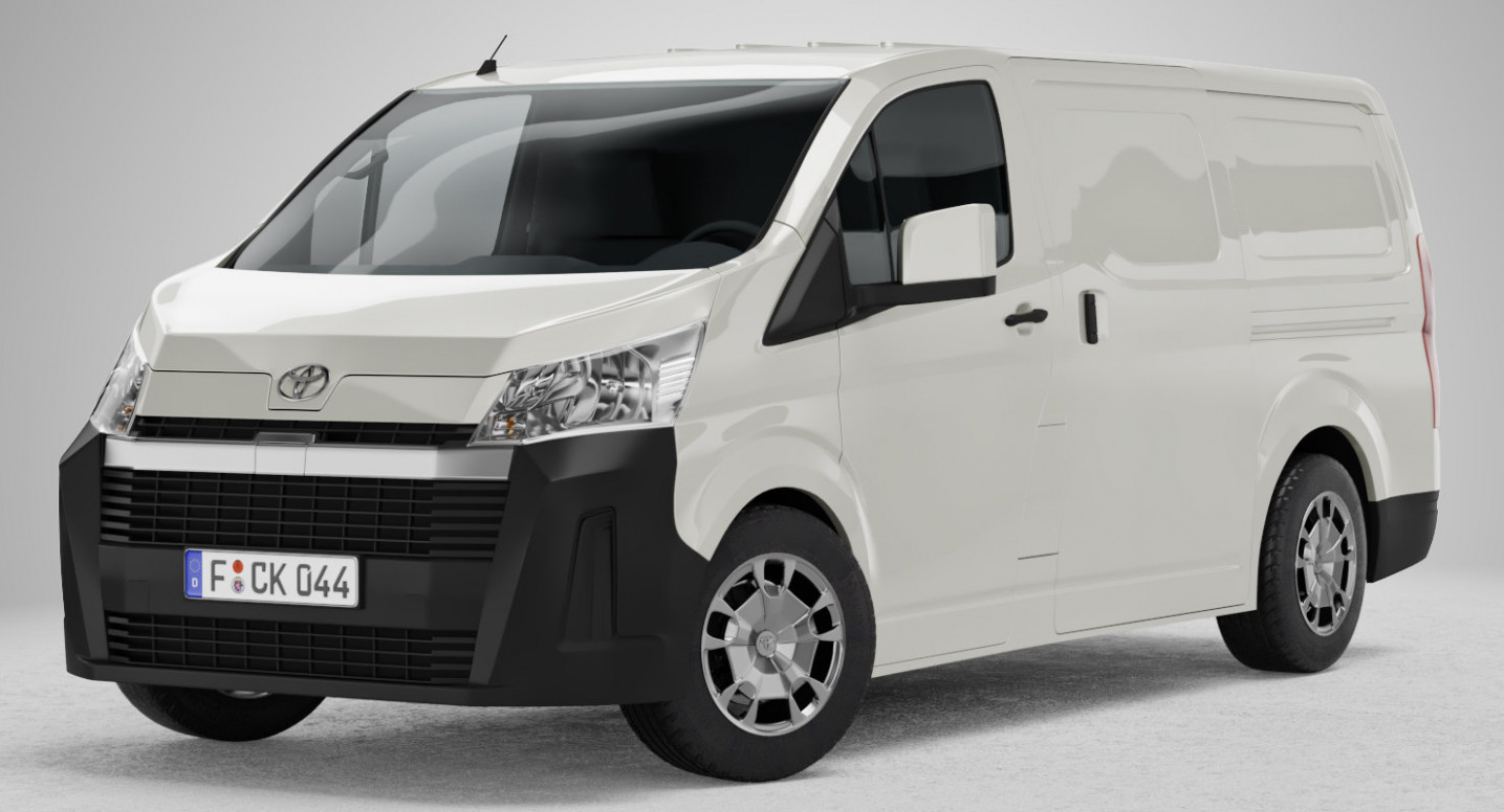 New Concept 2022 Toyota Hiace
