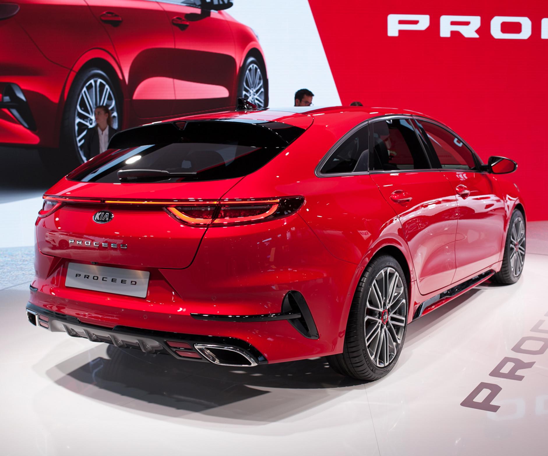Interior Kia Proceed 2022