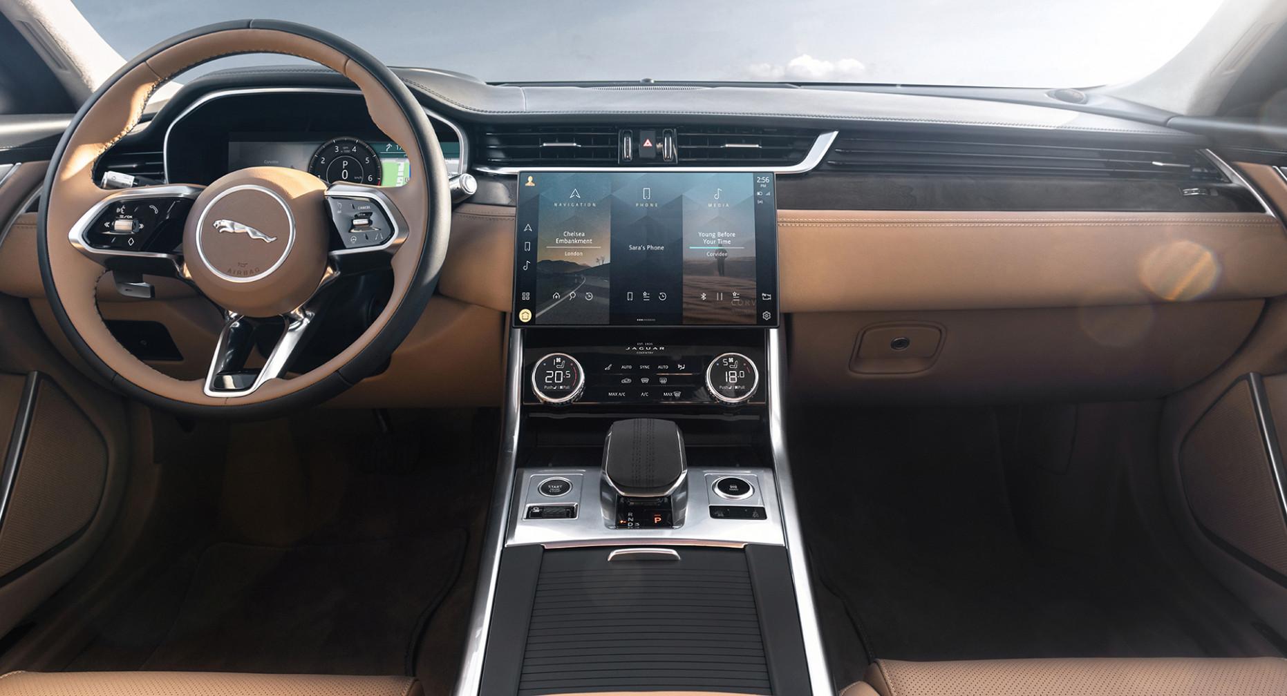 New Model and Performance New Jaguar Xe 2022 Interior