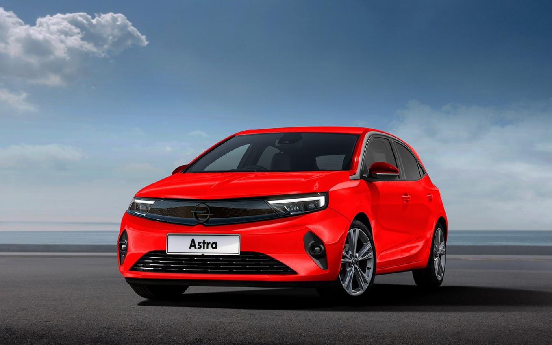 Wallpaper New Opel Astra 2022