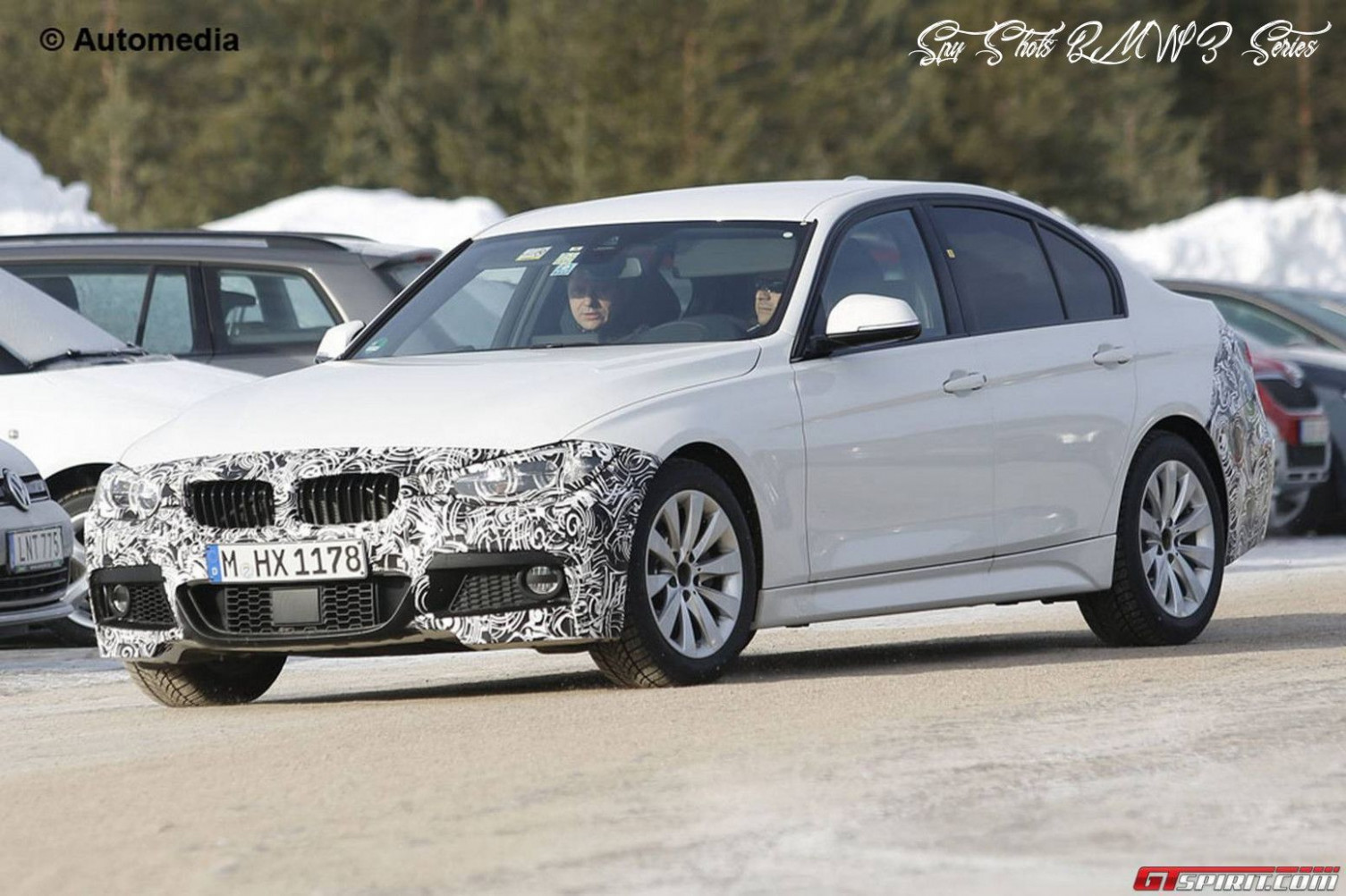 Exterior and Interior Spy Shots BMW 3 Series