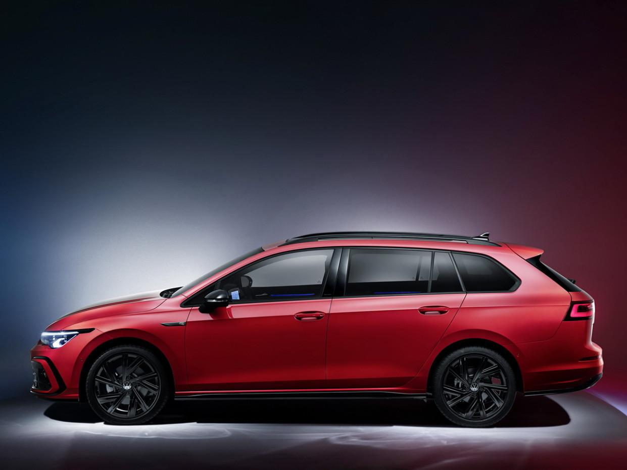 Picture Volkswagen Golf Alltrack 2022