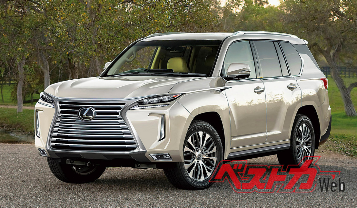 Redesign and Review 2022 Lexus LX 570