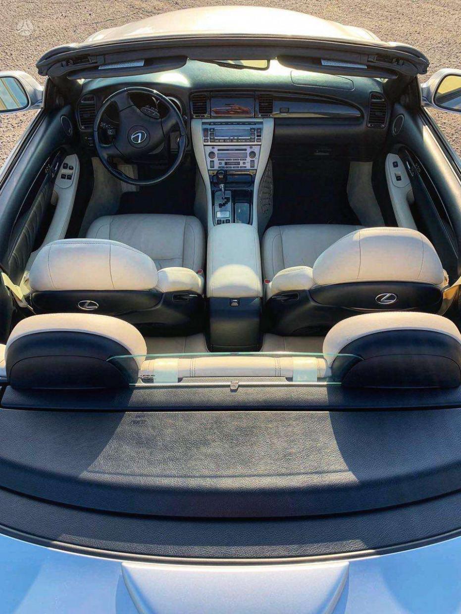 History 2022 Lexus SC