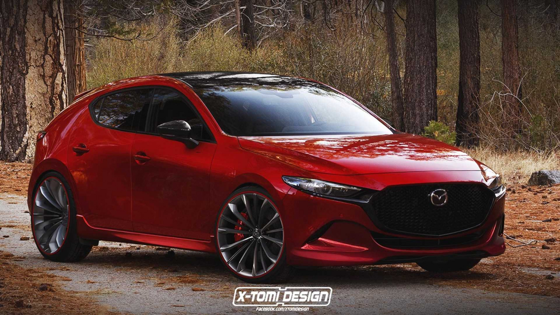 Concept 2022 Mazda 3 Turbo