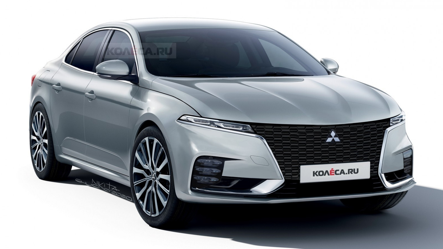 Redesign and Review 2022 Mitsubishi Galant