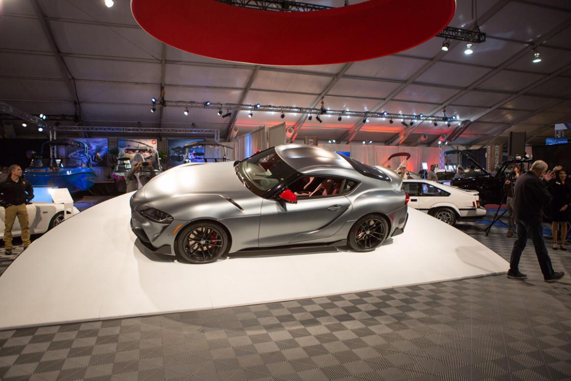 Research New 2022 Toyota Supra Barrett Jackson