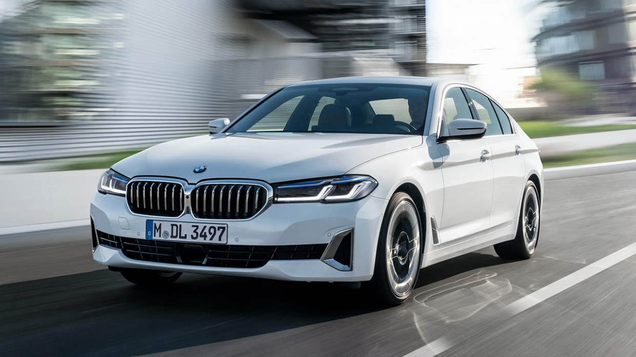 Research New BMW G30 Lci 2022
