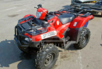 overview honda atv 2022