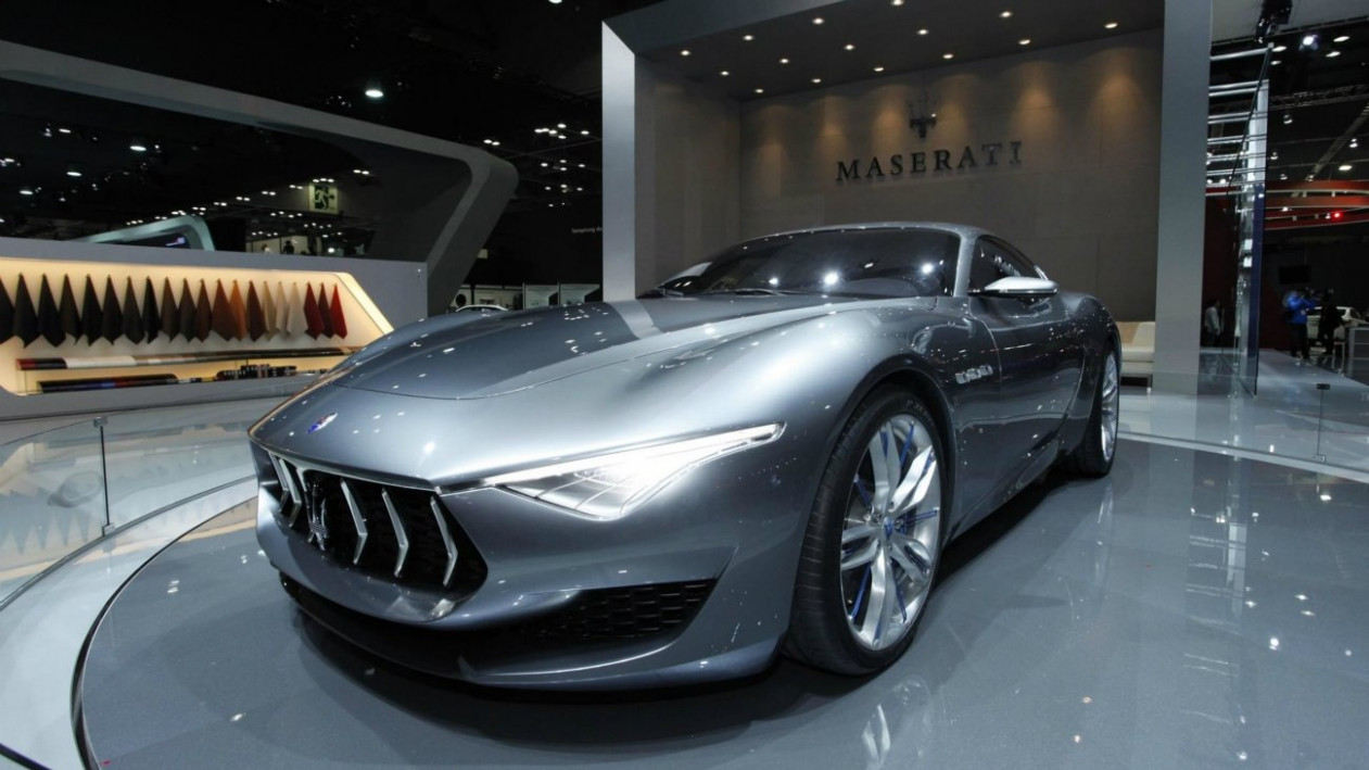 Engine 2022 Maserati Alfieris