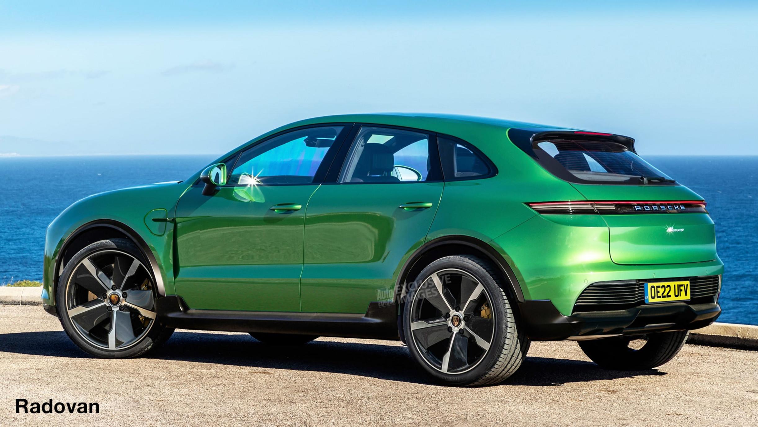 Spy Shoot 2022 Porsche Macan