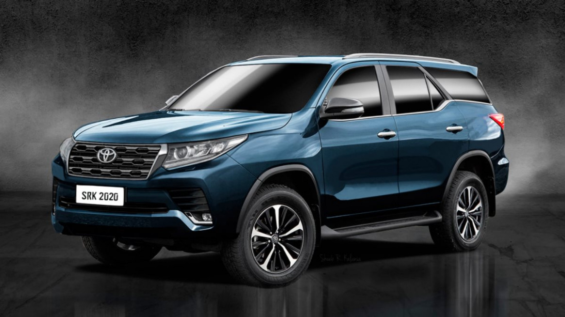 Exterior and Interior 2022 Toyota Fortuner