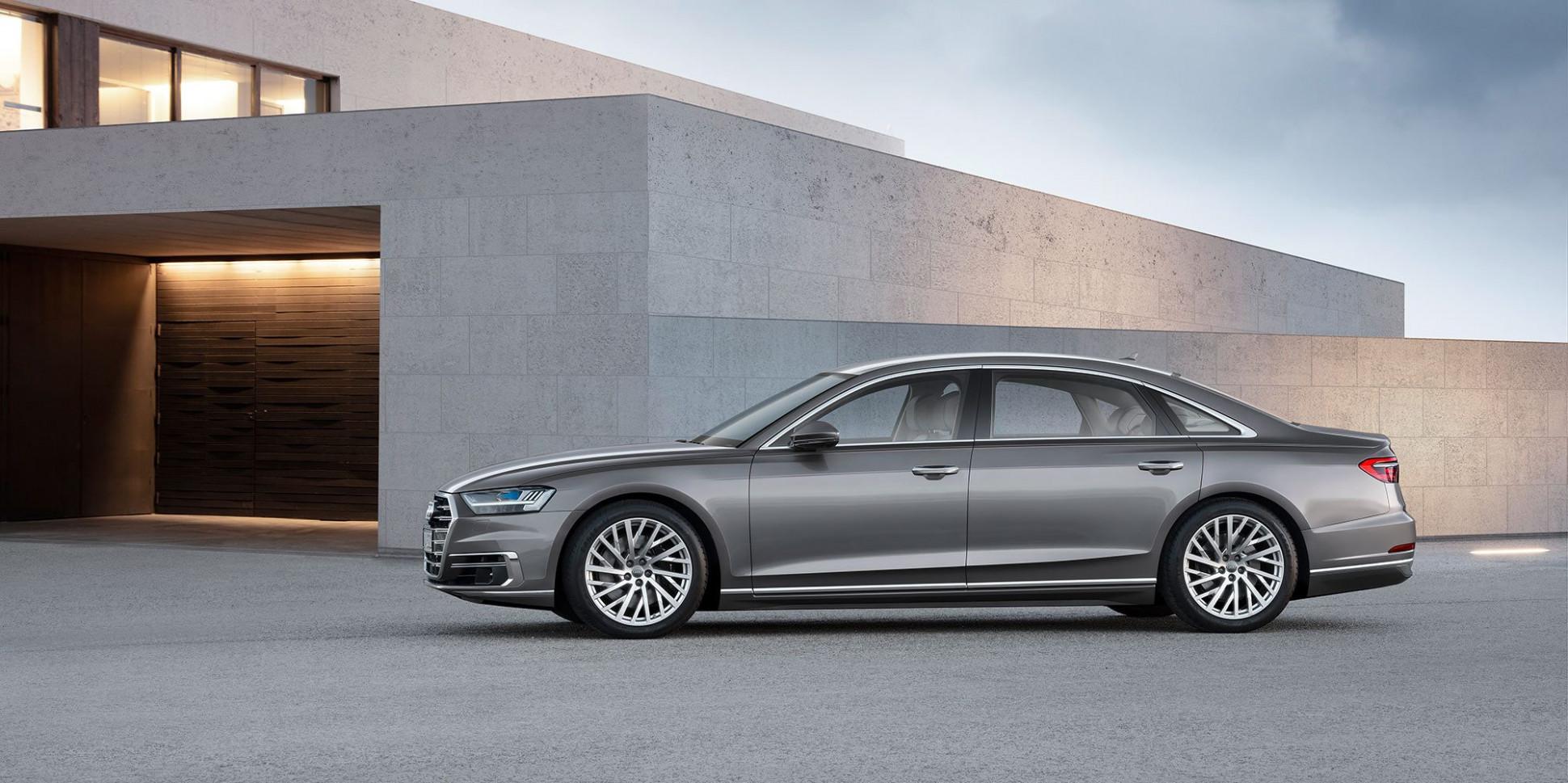 Speed Test 2022 Audi A8