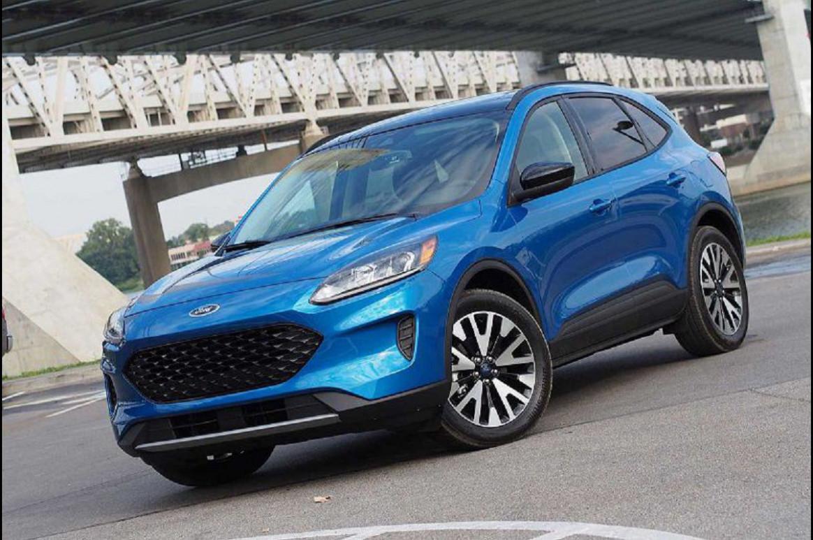 Interior 2022 Ford Escape