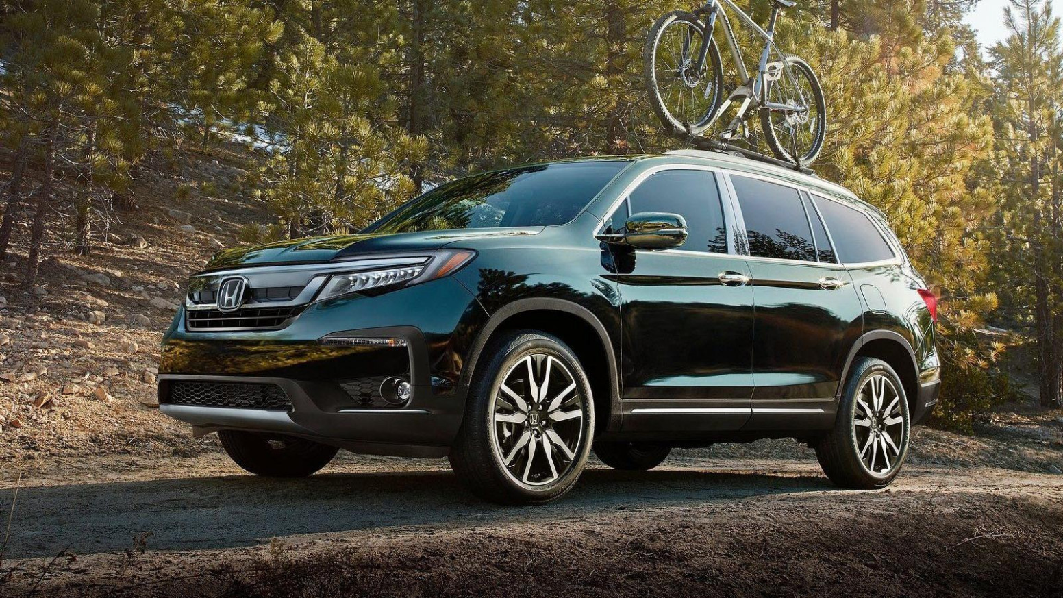 Exterior and Interior 2022 Honda Pilot