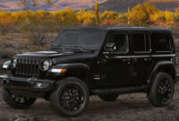 performance and new engine 2022 jeep wrangler unlimited