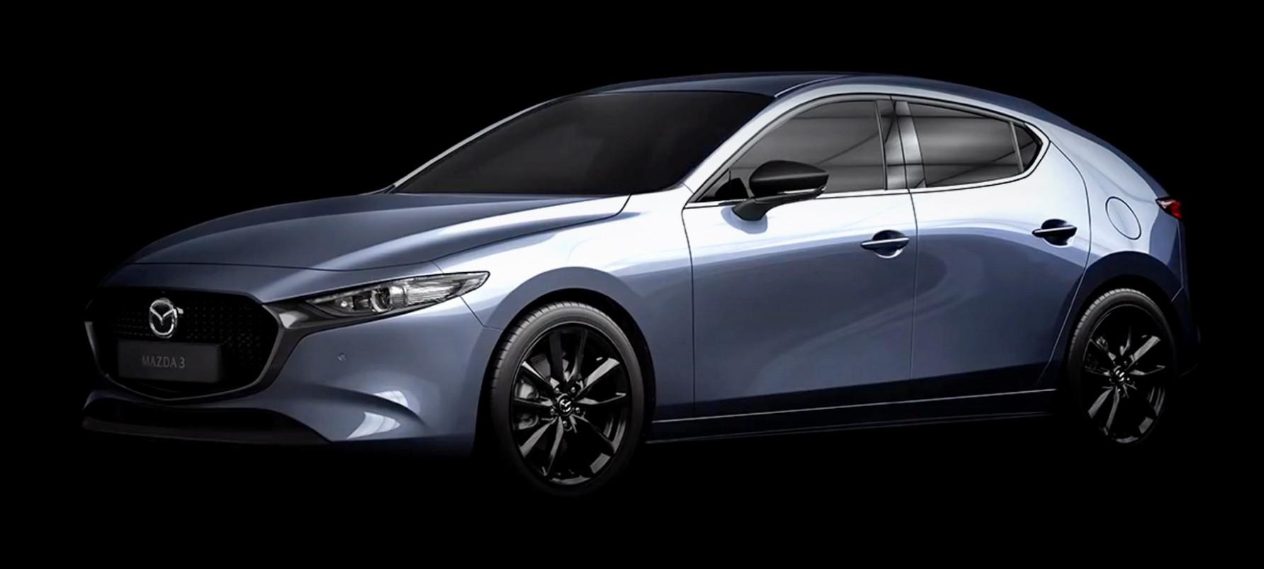 Wallpaper 2022 Mazda 3 Hatch