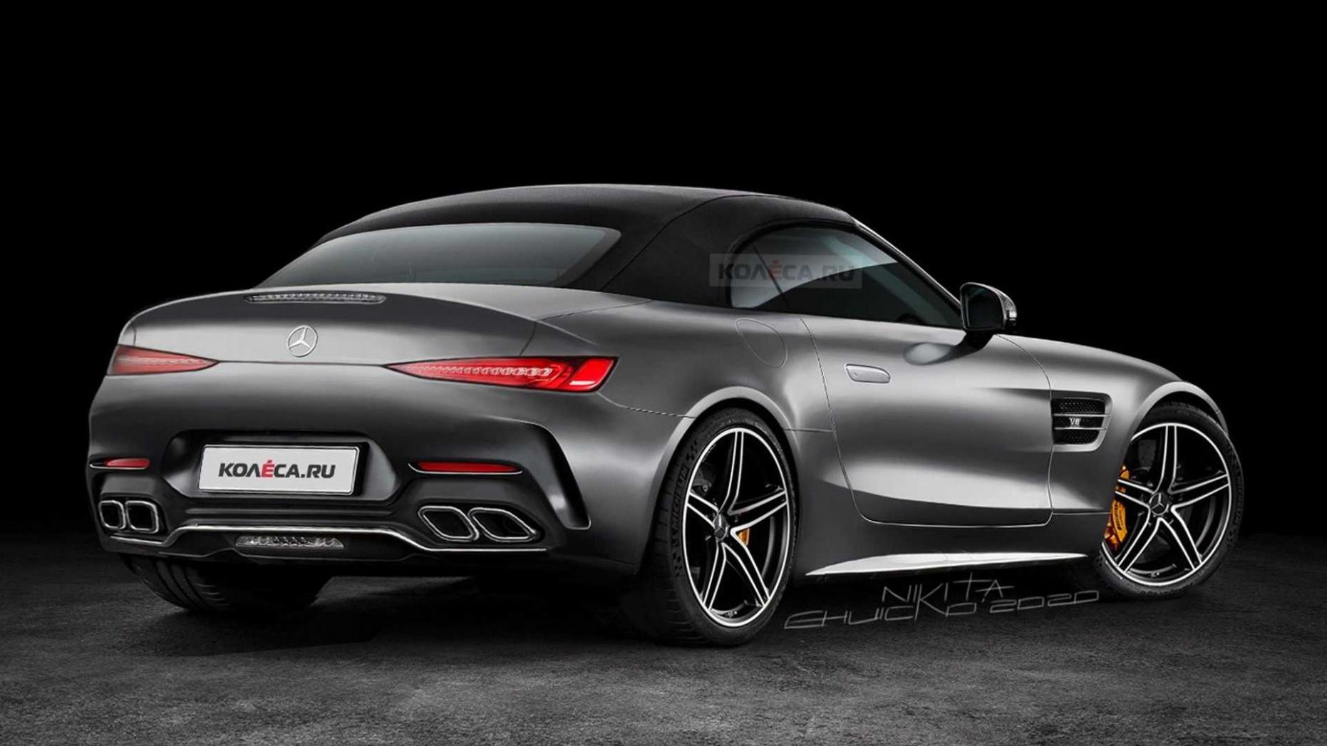 Rumors 2022 Mercedes AMG GT