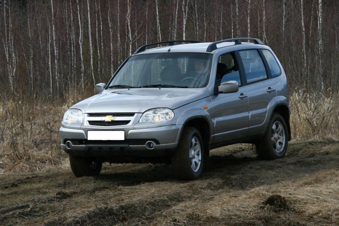 Configurations Chevrolet Niva 2022