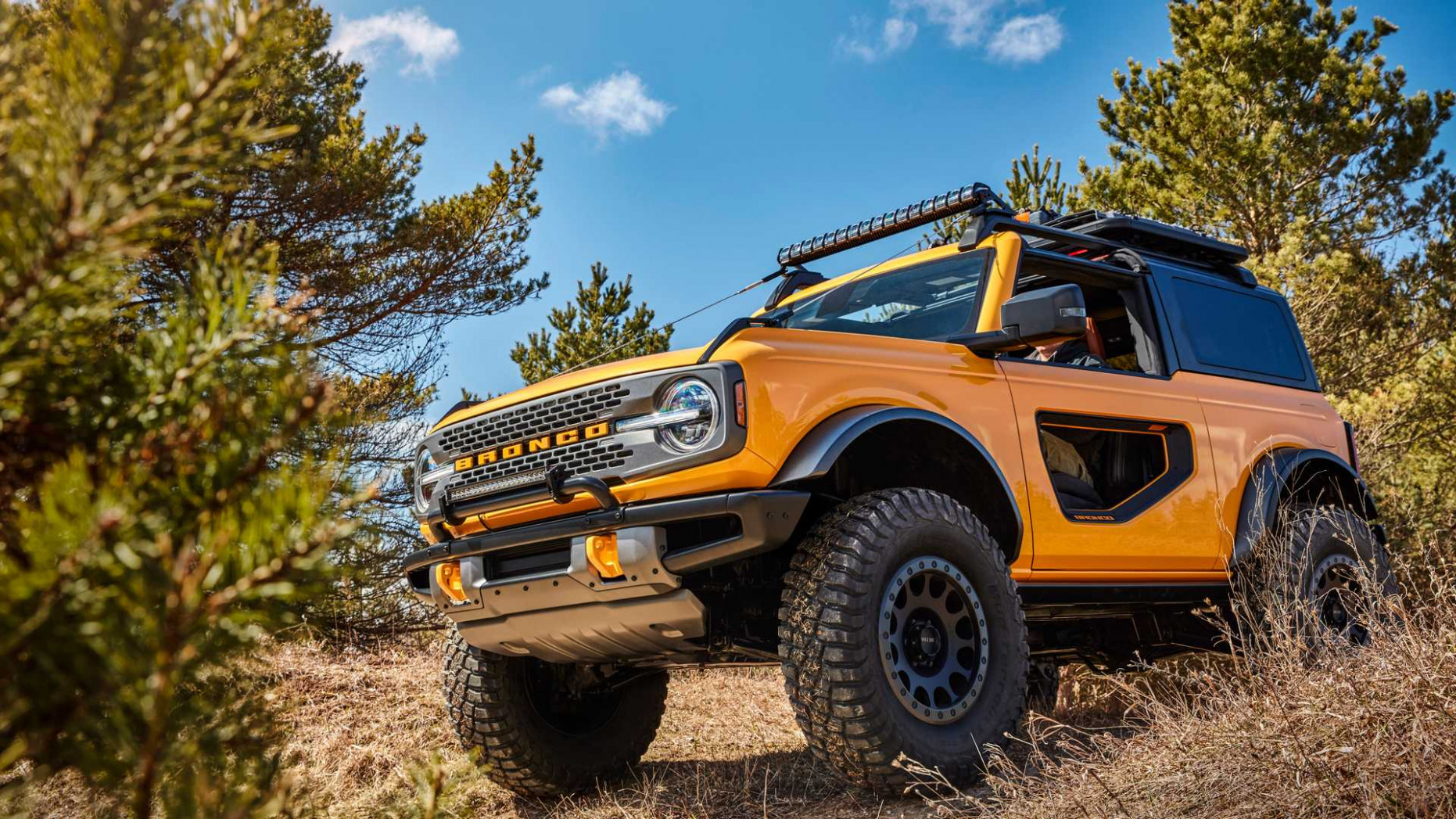 Images Ford Bronco 2022 Uk