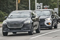 performance and new engine spy shots ford fusion