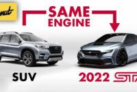 performance and new engine subaru models 2022